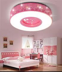 teenage girl bedroom lighting. Girl Bedroom Lighting Children Room Star Led Ceiling Lamps Round Boy Lamp Teenage O