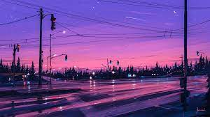 Pink Aesthetic Landscape Wallpapers ...