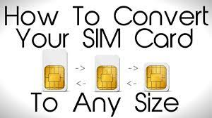 Since not only sim cards vary in sizes but so too do iphone sim styles, you'll need to know which is the pairing for you. How To Convert Your Sim Card To Any Size Youtube