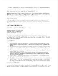 a sample resume school teacher sample resume fastweb