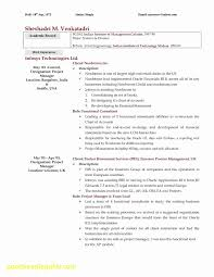 No Experience Resume Template Inspirational Line Cook Resume