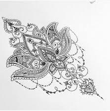 Lotus Flower Mandala Design Tattoo 문신 문신 아이디어 A 만다라