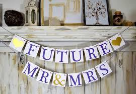 Wedding Banner Future Mrs Future Mr Mrs Bridal Shower Decorations Bridal  Shower Banners Future Mrs Bachelorette Banners