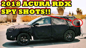 2018 acura rdx spy photos. Delighful Acura 2018 Acura RDX Spy Photos With Acura Rdx Spy Photos S
