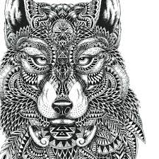 Coloring Pages Of Cute Wolves Howling Wolf For Kids Standing Pag