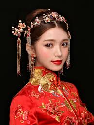 6点セット中国風髪飾り 中華風古代宮廷唐装漢服用アクセサリー