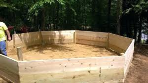 likeable wooden gaga ball pit o89251 gaga wooden gaga ball pit plans