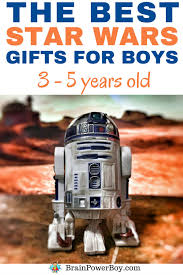 Are you looking for a gift your young Star Wars fan? Try these THE Best Gifts 3 - 5 Year Old Boys