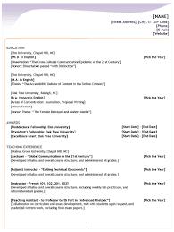 Typical Resume Format Good Recentresumes Com