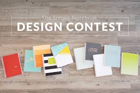 Simple Product Design Projects Becky Higgins Simple Notebook Design Contest
