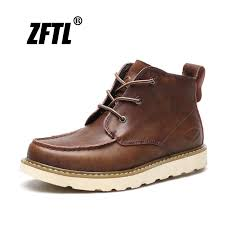 Hot Sale #f986 - <b>ZFTL New Men</b> Martins Boots Man Casual Tooling ...