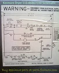appliantology photo keywords dryer Kenmore Dryer Wiring Diagram kenmore dryer 110 86863100 schematic kenmore dryer wiring diagram manual