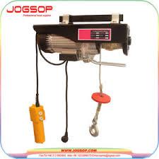 portable electric hoist. mini electric hoist with trolley, crane portable