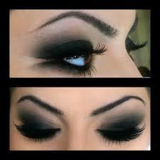 black smokey eyeshadow how to apply black eye shadow