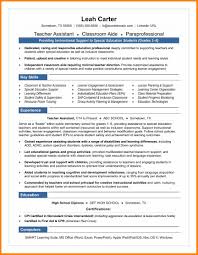 10 Educational Assistant Resume Gcsemaths Revision