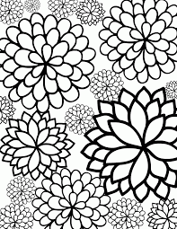Free printable geometric coloring pages adults geekbits org at. Geometric Flower Coloring Pages Coloring Home