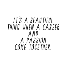 career and passion work beautiful so true and career and passion
