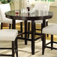 round counter height dining table set round counter height dining table in dark chocolate round counter