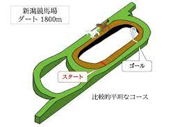 新潟 ダート 1800m