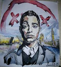 Oxxxymiron Handsome Man London I Have To Draw рисунки рэп и музыка