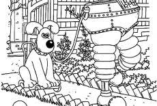 Test his knowledge by giving him flag coloring sheets. Wallace And Gromit Testing Artificial Feet Coloring Pages Best Place To Color