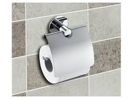 wall mounted toilet paper holder with flap no drilling