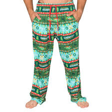 National Lampoons Griswold Family Christmas Vacation Fair Isle Lounge Pants