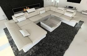 Stoff Wohnlandschaft Enzo Xxl Kanapé Couch Sofa és