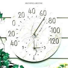 outdoor clock and thermometer set outdoor clock and thermometer set outdoor clock thermometer large outdoor clocks outdoor clock and thermometer