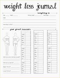 10 Weight Loss Measurement Charts Resume Samples