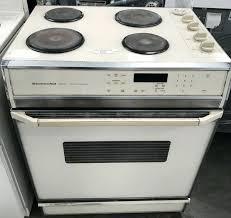 kitchenaid electric range electric stove range coils kitchenaid electric stove white