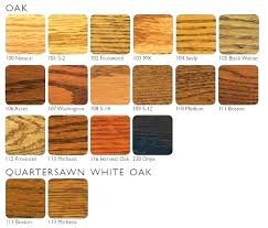 Wood Furniture Stain Color Chart Wood Furniture Colors Cozydecorating Co