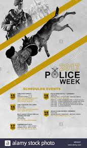 An Informational Poster Created For Police Week Held May 15