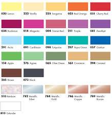 Pinata Ink Color Chart Alcohol Ink Marabu Creative