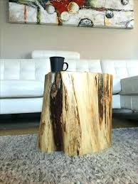 tree trunk furniture south africa stump end table stump side table log tables rustic tables tree