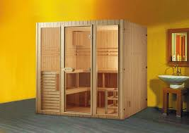 sauna glass doors design