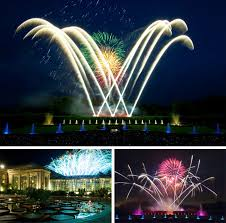 longwood gardens spectacular fireworks and fountains light and sound shows debut for the summer on sunday may 29
