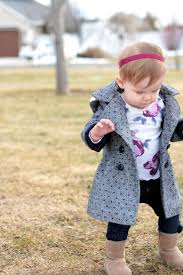 the princess and her pea coat styling your little girl