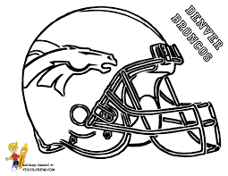 Small Picture Broncos coloring page printable Kid Super Bowl Party Ideas