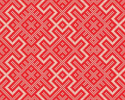 christmas sweater print background. Fine Christmas Christmas Graphic Print Design Red Knitting Background Abstract Nordic  Sweater Ornament Oldrussian Knitted Pattern Decorative Fashion Design And Background
