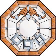 stained glass octagon 08
