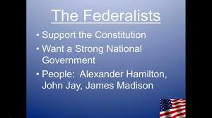 the federalists vs anti federalist debate