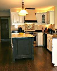 painted kitchen islandsPainted and Waxed Kitchen Island  Traditional  Kitchen