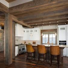 rustic white kitchen ideas. Plain White Rustic Kitchen Appliance  Kitchen Rustic Lshaped Dark Wood Floor And  Brown With White Ideas