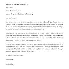 Resignation Letter For Moving Out Of State Gallery Sample Due To