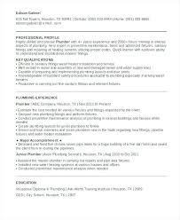 Plumbing Resume Templates Lifeguard Resume Sample Free Plumbing ...