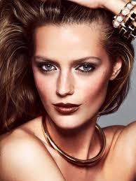 esther heesch stars in a beauty editorial for elle sweden
