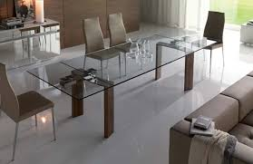 attractive extendable contemporary dining tables contemporary furniture design of daytona glass extendable dining