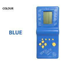 Máy Chơi Game Xếp Gạch Cầm Tay Tetris 9999 Trong 1