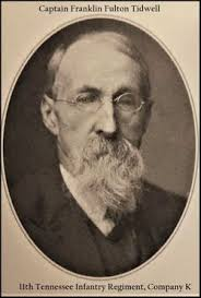 Capt Franklin Fulton Tidwell (1840-1911) - Find A Grave Memorial